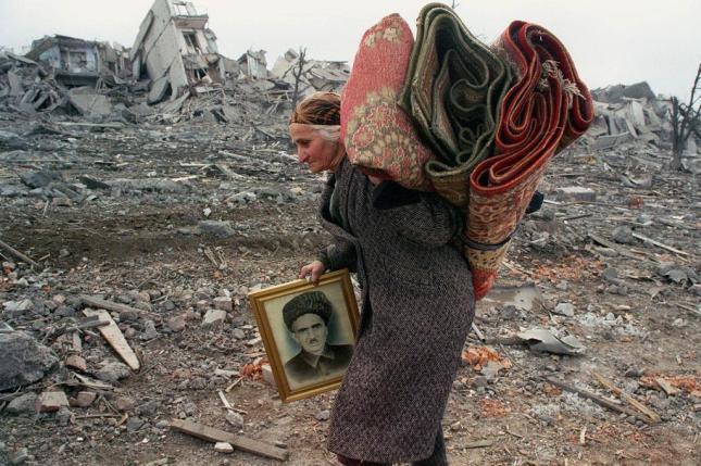 Resultado de imagen de refugiados chechenos imagenes