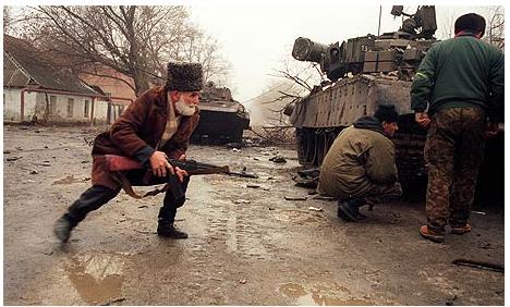 Resultado de imagen de Segunda Guerra de Chechenia imagenes